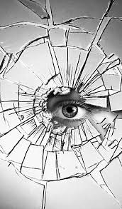 El corazón también puede romperse como un espejo