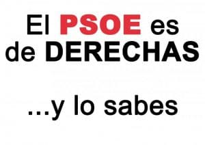 PSOE Derechas Socialismo