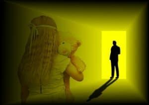 víctima de abuso sexual