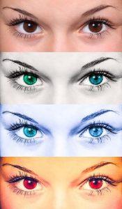 ojos mujeres
