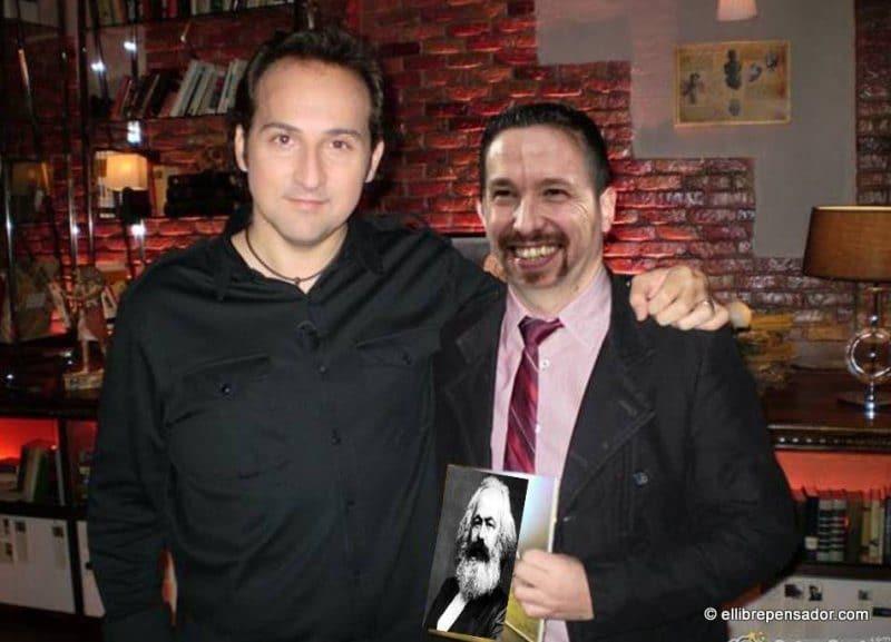 la corbata de Pablo Iglesias
