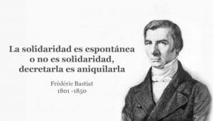 Bastiat solidaridad