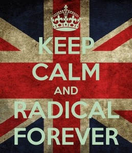 soy un radical keep calm