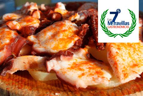 Las 7 Maravillas Gastronómicas de España. Pulpo