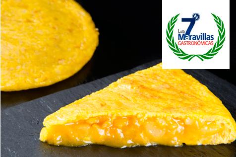 Las 7 Maravillas Gastronómicas de España. Tortilla