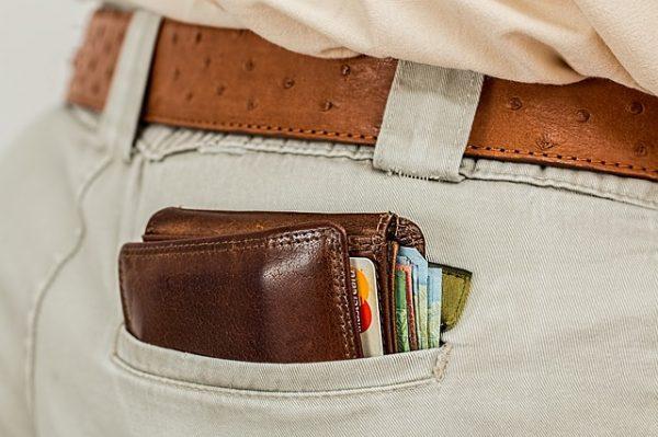 cartera de bolsillo
