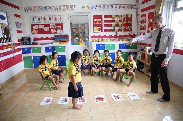 aula escuela agrupamiento homogéneo