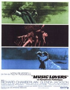 El tormentoso y melancólico ocaso de Chaikovski: The Music Lovers (1970)