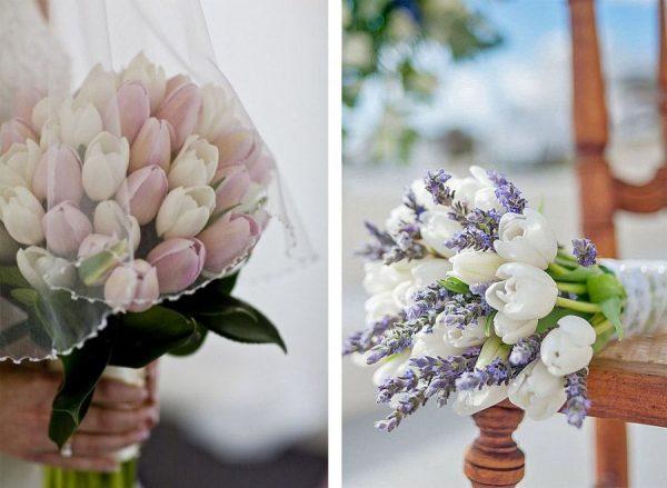 tulipanos ramo boda