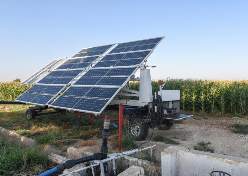 Ventajas del riego y bombeo solar